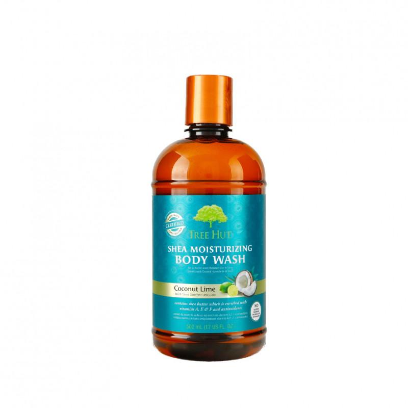 Tree Hut - Shea Moisturizing Body Wash Coconut Lime 503 ml.