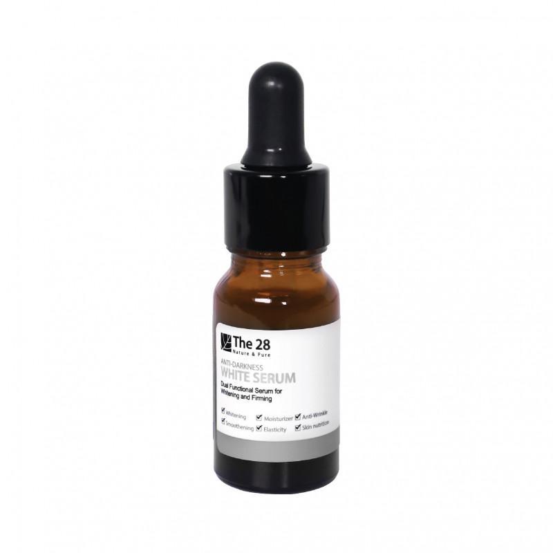 The 28 l Anti-Darkness White Serum 8 ml.