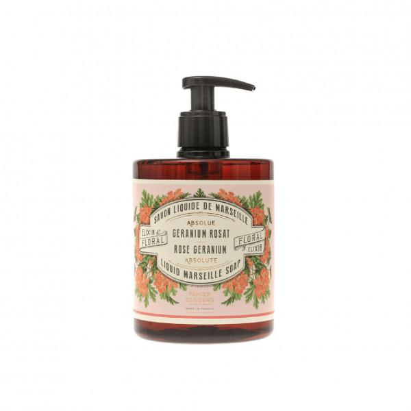Panier Des Sens   Rose Geranium Absolute Liquid Marseille soap 500 ml.