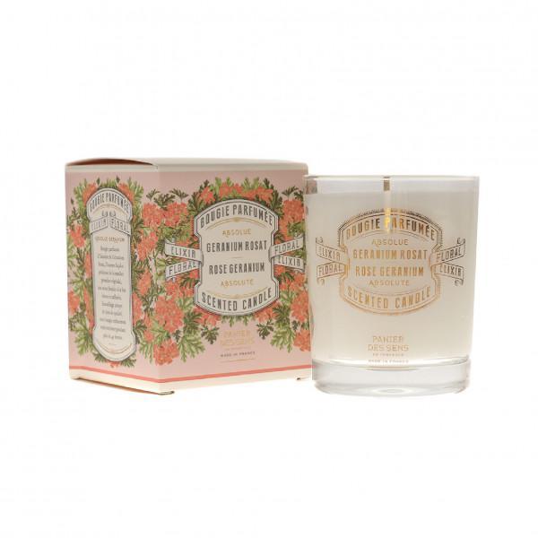 Panier Des Sens | Rose Geranium Absolute Scented candle 180 ml.