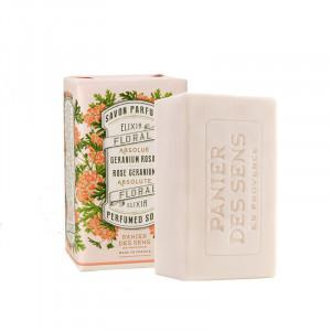 Panier Des Sens  Rose Geranium Absolute Perfumed soap  150 g.